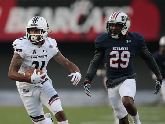 Devin Gray set a UC receiving record in his Bearcats