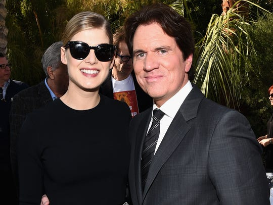 Rob Marshall (right, with Rosamund Pike)