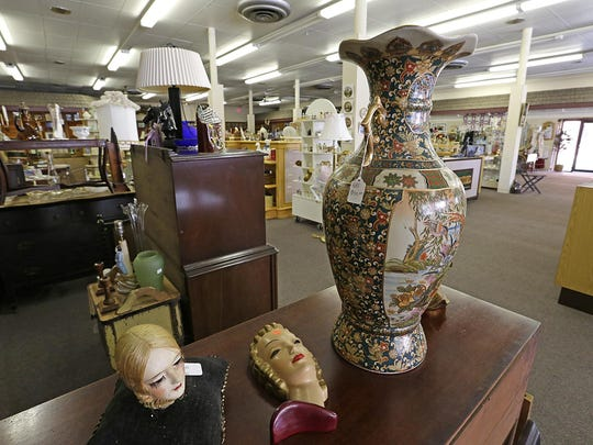 Antiques and vintage collectibles are featured at Russtiques Emporium at 90 South Main St. in Fond du Lac. The new store carries items from 13 vendors.