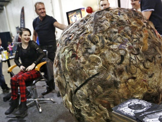 Huge human hair ball, zombie archives, Tav Falco: News from around our 50 states
