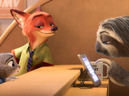 """Zootopia"" is among the nominees for Best Animated"