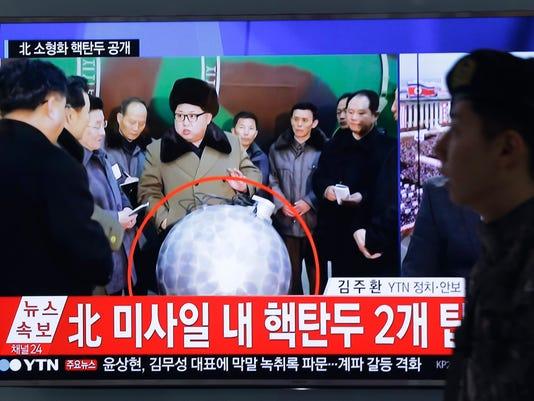 AP SOUTH KOREA NORTH KOREA NUCLEAR I KOR