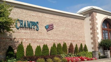 The former Champps restaurant on Haggerty in Livonia. BJ's Restaurant and Brewhouse has turned in paperwork to the city seeking to demolish the current building and build a new restaurant at the site.
