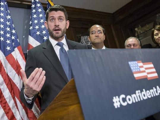 Paul Ryan, Steve Scalise, Cathy McMorris Rodgers, Will Hurd