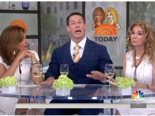 John Cena brought Kathie Lee Gifford, Hoda Kotb to tears while speaking about his breakup