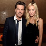 Josh Brolin and Kathryn Boyd at the 'Inherent Vice' after-party in Los Angeles, in December 2014.