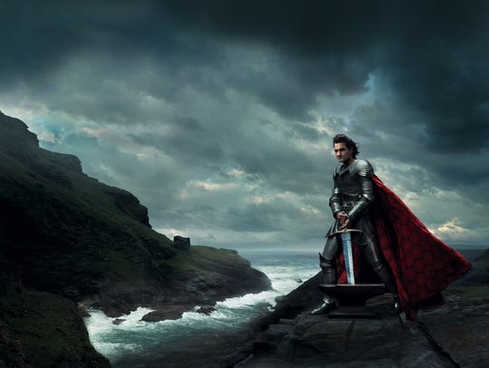 Annie Leibovitz' idea of King Arthur, with Roger Federer