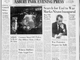 1973: Search for end to war marks Nixon inaugural