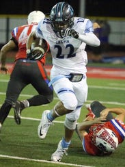 Chapin wide receiver Christian Mckeever, 22, steams