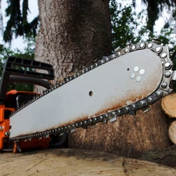 A landscaper used his chainsaw to defend himself when he helped a motorist involved in a road-rage incident July 26, 2016, in Murfreesboro, Tenn.