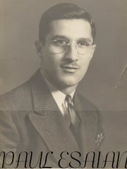 Born in Providence, R.I., Paul Esaian lived in Long Island and retired to Port St. Lucie.