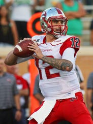 Another strong year from WKU quarterback Brandon Doughty