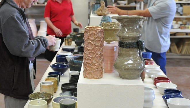 The Mother's Day Ceramic and Pottery Sale is set for this week at the Fain Fine Arts Building at Midwestern State University.