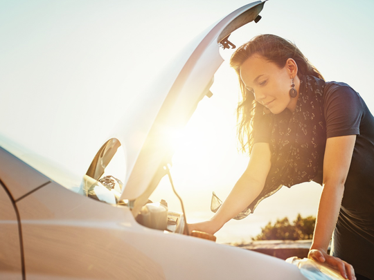 A big car repair is one of many factors that can lead to financial trouble.