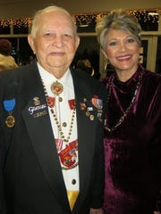 Former Krewe Gemini King Ray Urban and daughter Jennifer