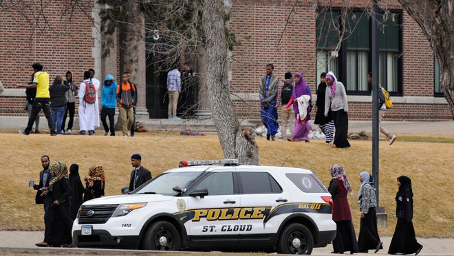 St. Cloud Police were called to Technical High School and the school was put into lockdown for what police said was a verbal disturbance.