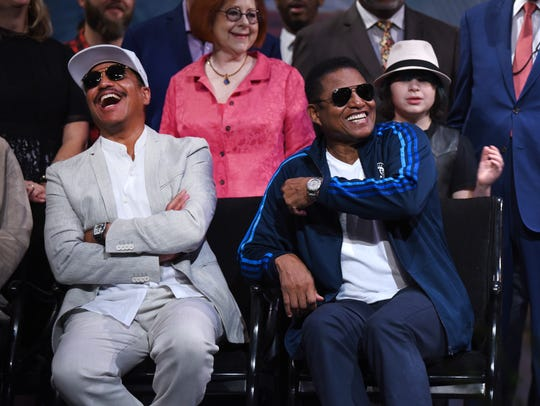"""We've always made it clear, Motown introduced us to the world, but it was Bobby Taylor — and Gladys (Knight) — who found us and brought us to Motown,"" said Marlon Jackson, left, in an interview with The Detroit News in May."