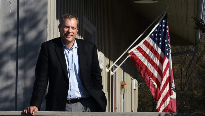 """Thompson's Station Mayor Corey Napier said he campaigned for re-election on a platform of """"growth without regret."""""""