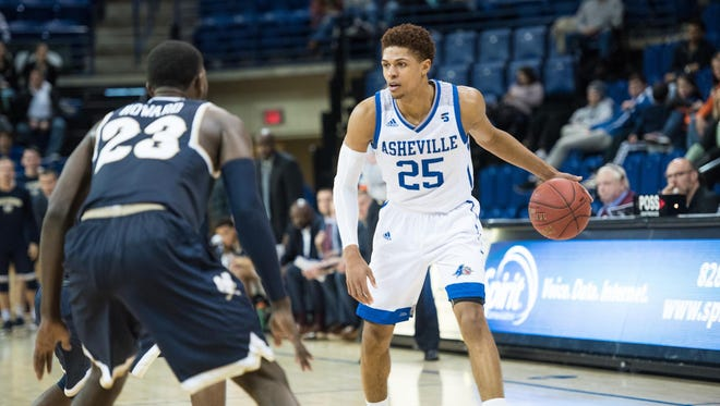 After winning Big South Freshman of the Year, Walnut Hills grad MaCio Teague continues to flourish at UNCA as he eyes a professional career in the NBA.