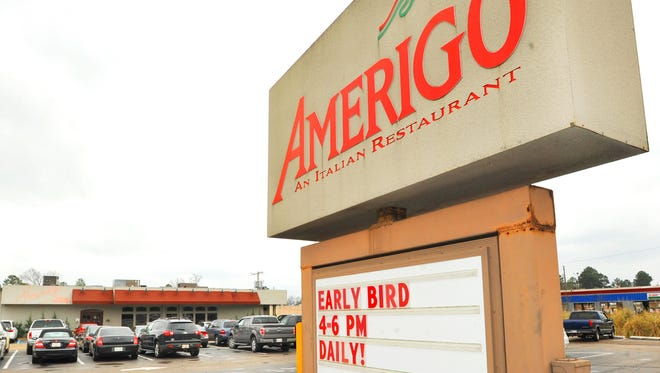 Amerigo is located on Old Canton Road in Ridgeland and in the Market Street area off Lakeland Drive in Flowood.