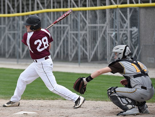 Seaholm's Justin Miller (28) is a contact hitter at