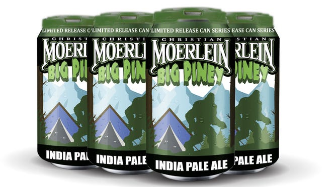 Big Piney IPA is the latest in Christian Moerlein's can series.