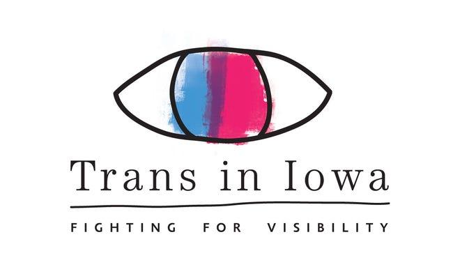 Trans in Iowa logo