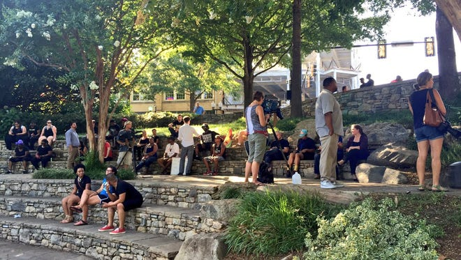 Members of Upstate Black Lives Matter plan to march at peace rallies Friday and Saturday nights in downtown Greenville.