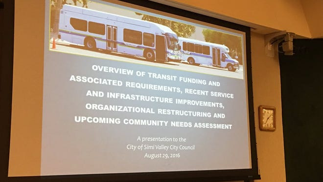 The Simi Valley City Council Monday night questioned the operating efficiency of Simi Valley Transit.