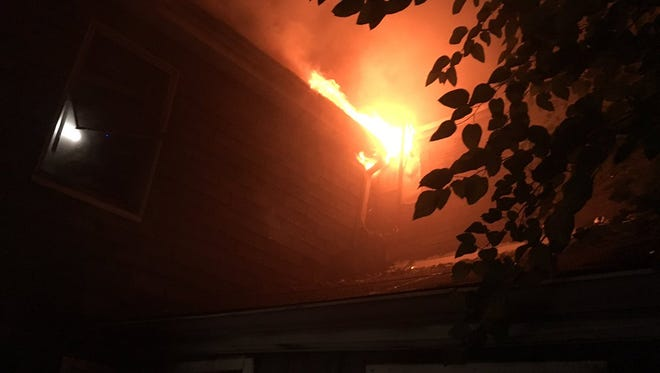 York City Fire Department responded to a fire on the 600 block of McKenzie St. in York on Sunday morning.