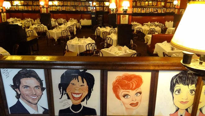 Sardi's is the theater district's best-known restaurant and home to more than 1,000 caricatures. .