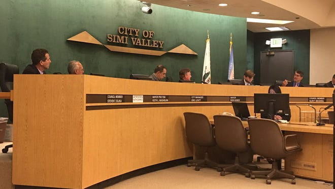In response to the passage of Proposition 64, the Simi Valley City Council early Tuesday enacted a 45-day moratorium on commercial marijuana operations and personal outdoor cultivation of the plant.