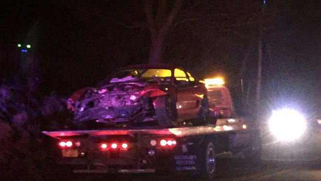 A crash on Hess Farm Road near Lake Redman in Springfield Township injured six, according to Pennsylvania State Police.