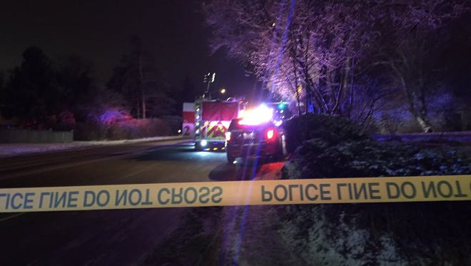 Police were on the scene of a fatal auto-pedestrian crash on Clearview Avenue in Fort Collin on Thursday night.