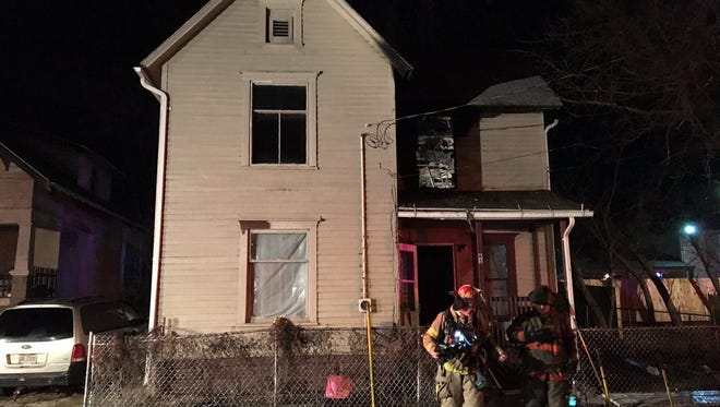 No one was injured in a house fire Monday at 65 Woerth Ave. The fire started in an upstairs bedroom, officials said, but the cause remains under investigation.