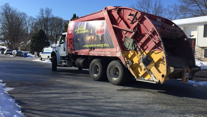 A man was injured in York Township Friday when he was struck and dragged by a garbage truck
