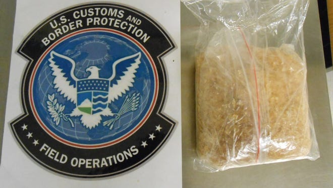 83 shipments of illegal drugs from China were intercepted at the Cincinnati/Northern Kentucky International Airport March 6-26.