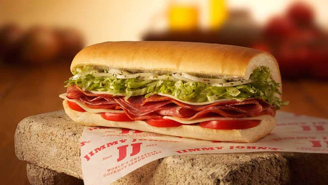 Jimmy John's three Delaware locations will be selling subs for $1 on May 2 as part of the chain's second nationwide Customer Appreciation Day.