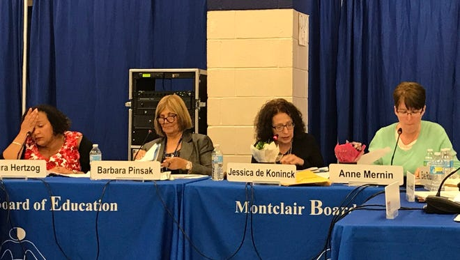 The Montclair Board of Education will hold its reorganization meeting on Tuesday.