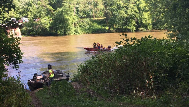 Crews were searching for a boy in the Susquehanna River after he was swept away in the water. The search was focused near Duncannon.