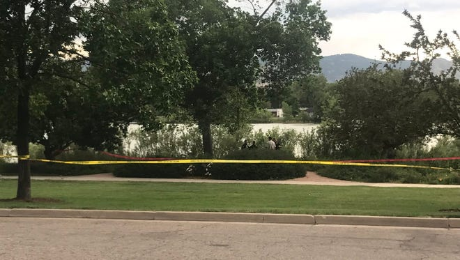 A dead body was found in Fort Collins City Park lake on Wednesday at approximately 6:10 p.m., Fort Collins Police Services confirmed.