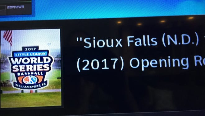 Sioux Falls is not in North Dakota.