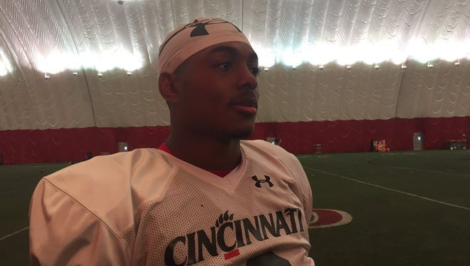 In preseason, La Salle High School graduate Jarell White has been seeing both second- and first-team snaps as a University of Cincinnati true freshman linebacker.