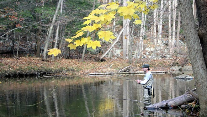 Late September weather is better-suited for fishing than hunting.