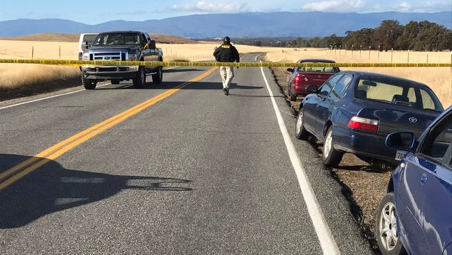 Law enforcement has closed off all access to the Rancho Tehama reserve to investigate reports of a shooting that left multiple people injured Tuesday.