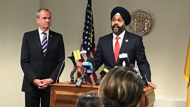 Gov.-elect Phil Murphy announced Bergen County Prosecutor Gurbir S. Grewal as his pick for state attorney general on Tuesday.