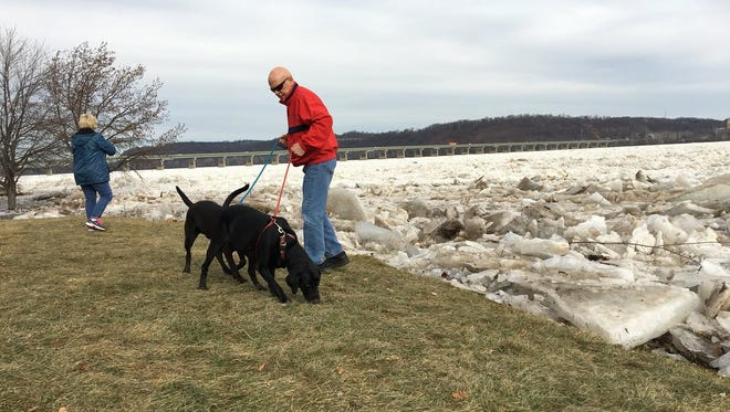 A flood watch has been issued in Lancaster and York counties from Saturday, Jan. 20 - Monday, Jan. 22 because of ice jams on the Susquehanna River shorelines.