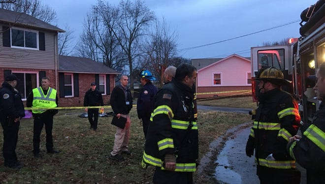 An 18-year-old woman was pronounced dead at the scene of a house fire near Percy Priest Lake on Saturday.