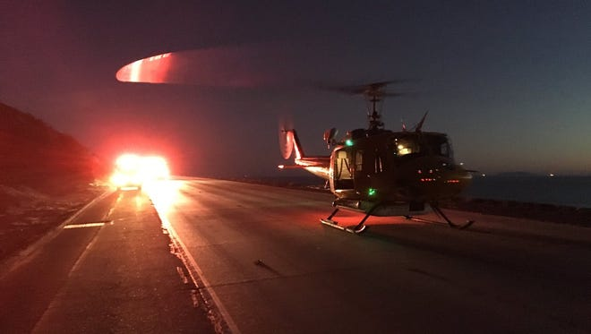 A rollover crash Saturday afternoon along northbound Highway 101 killed one person and critically injured two more, including one which had to be transported via helicopter to the hospital.