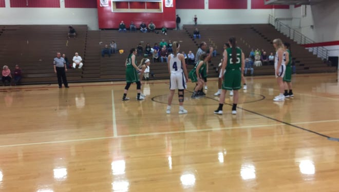 The Cedar Crest girls basketball team fell to Donegal 41-39 in a Lancaster-Lebanon League preliminary round playoff game on Thursday night.